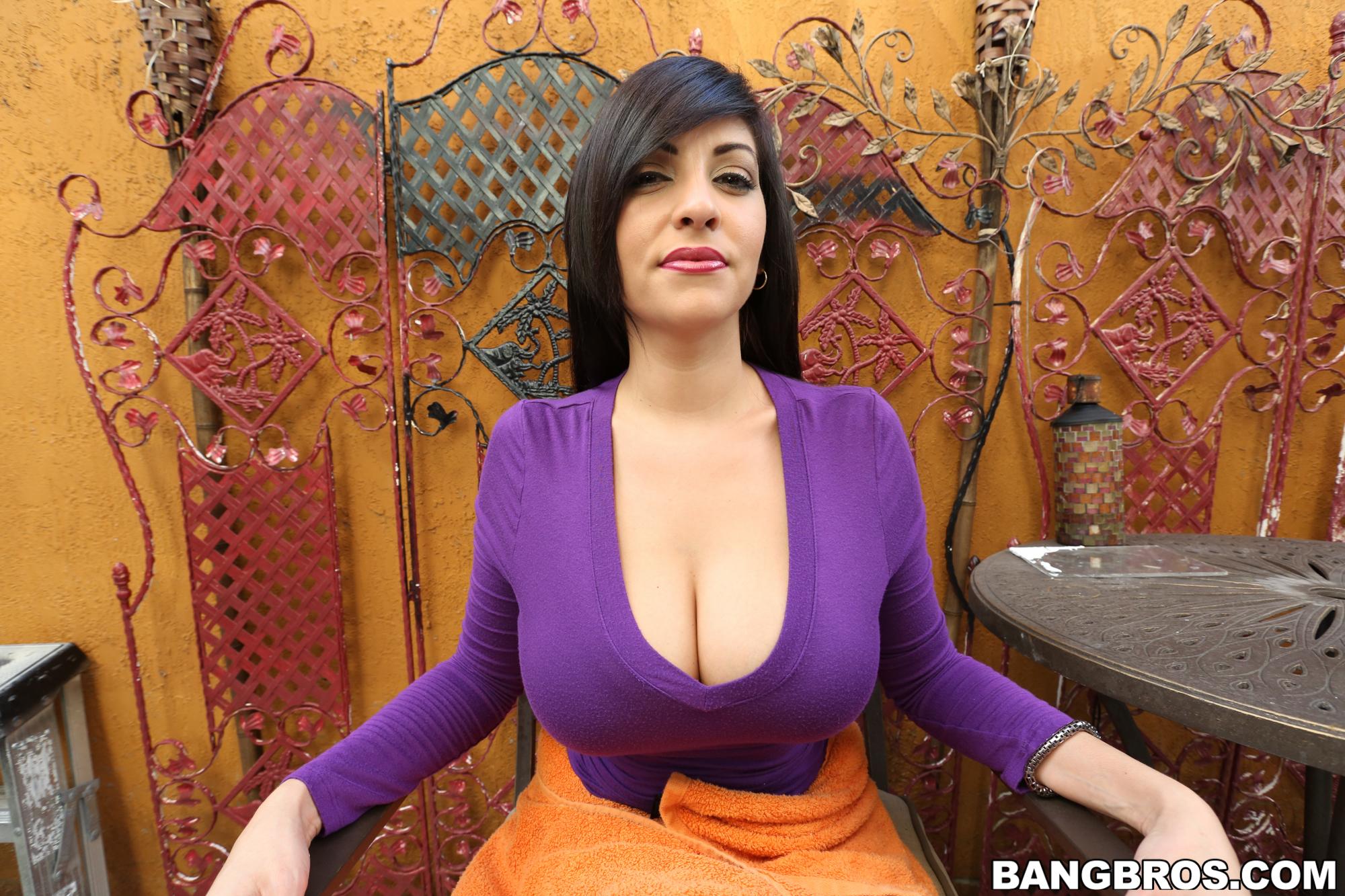 latina with huge natural tits